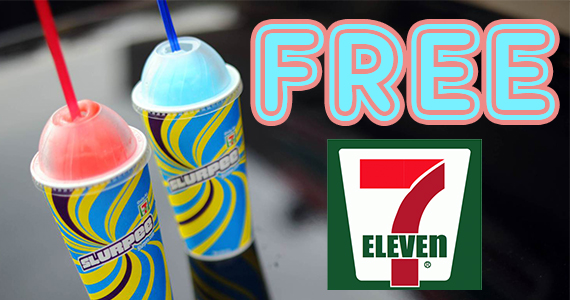 Free Medium Slurpee From 7-Eleven