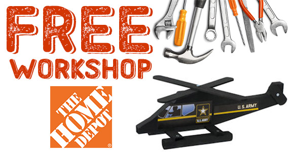 Veterans Day Toy Helicopter – Kid's Clinic At Home Depot