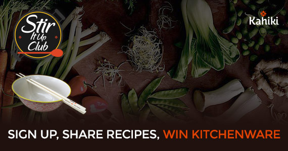 Win New Cookware From Kahiki Foods
