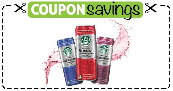 Save 50¢ off Starbucks Refreshers