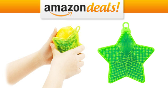 Get an Antibacterial Sponge Scrubber For Only $5.00