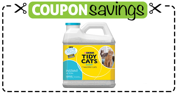 Save $2 off Purina Tidy Cats Litter