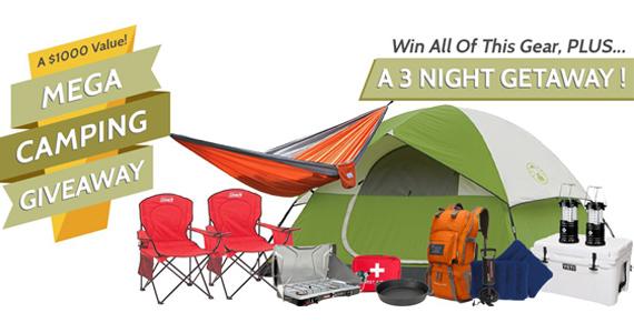 Win a 3-Day Camping Getaway