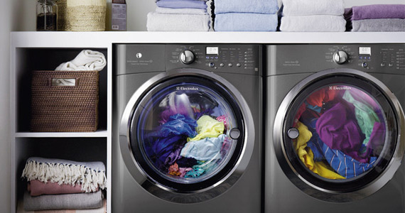 Win an Electrolux Washer and Dryer Set