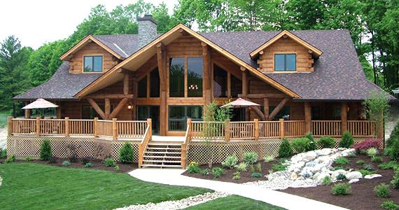 Win an eLogHomes Sweetwater Log Home