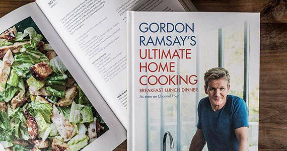 Win The Entire Gordon Ramsay Cookbook Collection