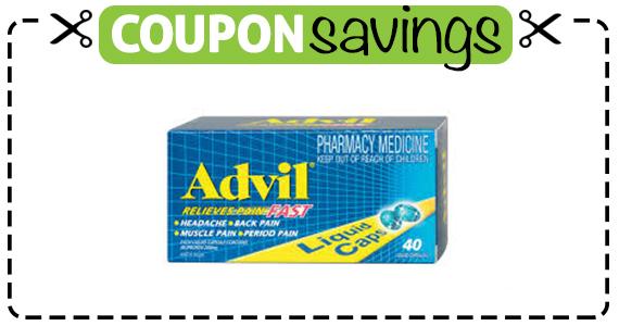 Save $3 off Advil 40ct
