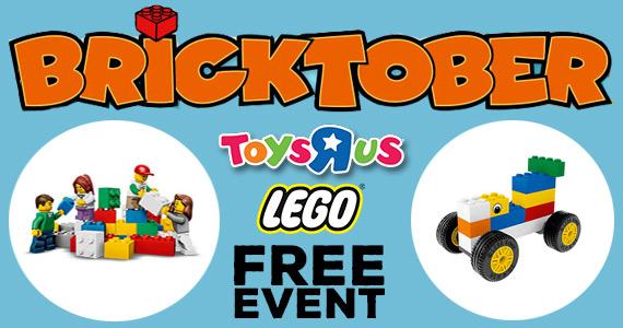 Free Lego Bricktober Event
