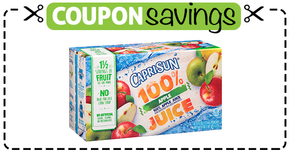 Save $1 off Capri Sun