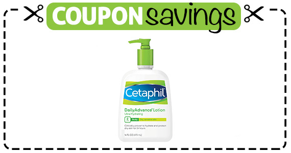 Save $2 off Cetaphil Daily Advance Lotion