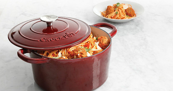 Win a Crock-Pot Cast Iron Dutch Oven