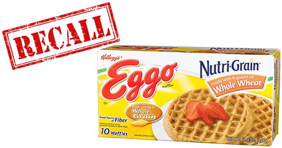 Kellogg's Recalls Eggo Nutri-Grain Whole Wheat Waffles