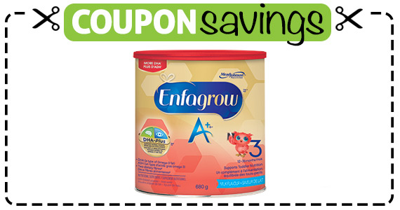 Save $3 off Enfagrow