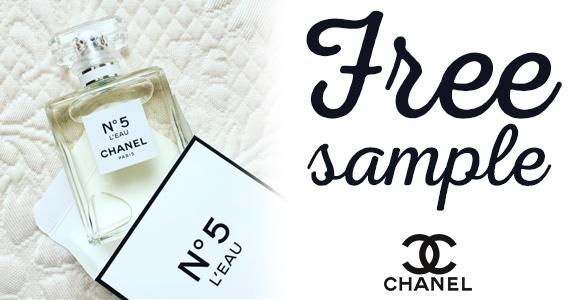 Free Sample of Chanel N°5 L'EAU