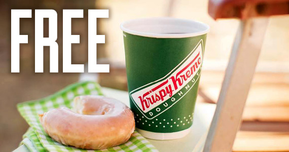 Free Coffee and Doughnut From Krispy Kreme On 9/29