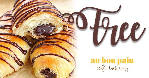 Free Mini Chocolate Croissant From Au Bon Pain