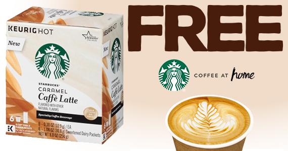 Free Starbucks Caffe Latte K-Cup Sample