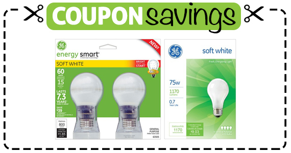 Save $2 off GE Lighting