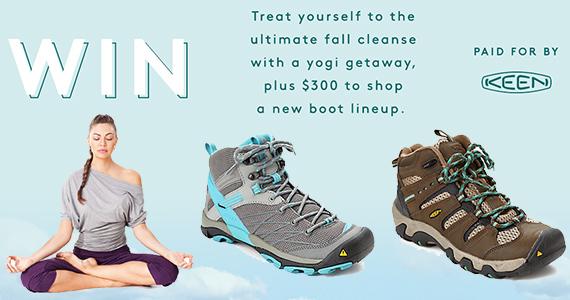 Win a Keen Yoga Retreat