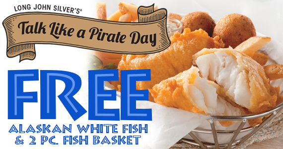Free Food From Long John Silver's – TODAY!