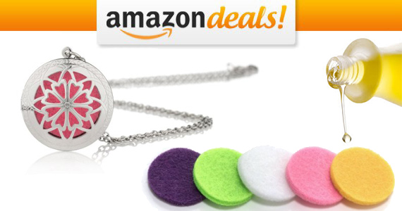 Get an Essential Oil Diffuser Locket For Only $10.17