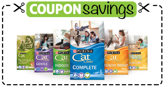 Save $2.05 off Purina Cat Chow