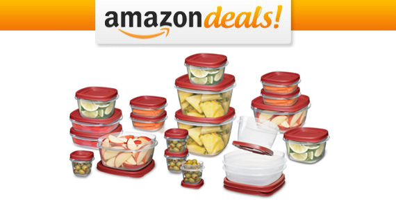 Get 42-piece Rubbermaid Easy Find Lids For Only $15.99
