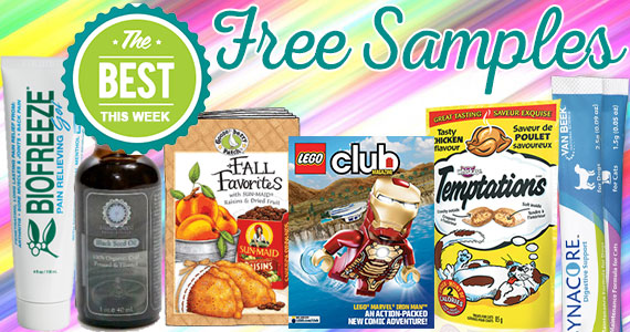 Free Sample Roundup Week of 9/5