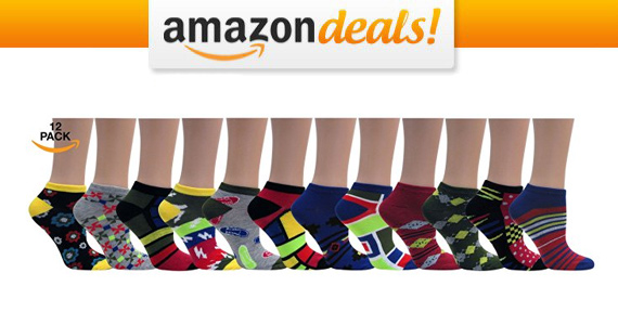 Get 12 Pairs of Women's Low Cut Socks For Only $6.79