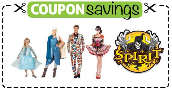 Save $10 off $40 at Spirit Halloween
