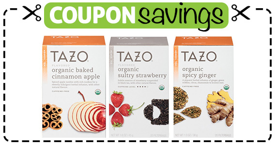 Save $1 off Tazo Tea