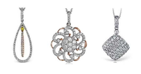 Win 1 of 3 Simon G Bridal Necklaces