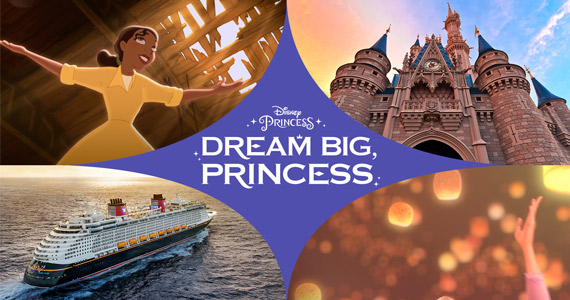 Win a Disney Resort & Cruise Princess Trip