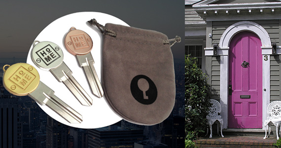 Win a Luxury Plated House Key