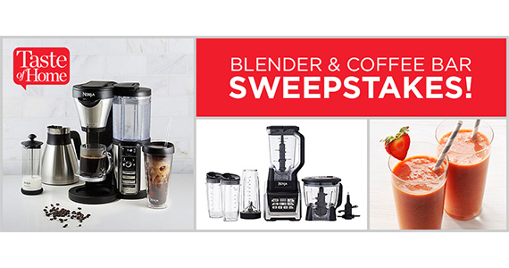 Win a Ninja Blender and Coffee Bar Brewer