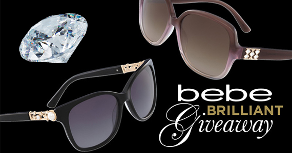 Win a Pair of Bebe Sunglasses & Swarovski Gift