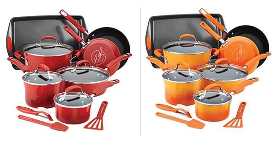 Win a Rachael Ray 14-Piece Cookware Set