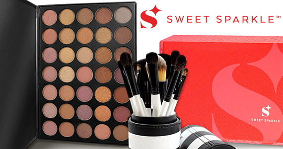 Win a Sweet Sparkle Make-Up Box