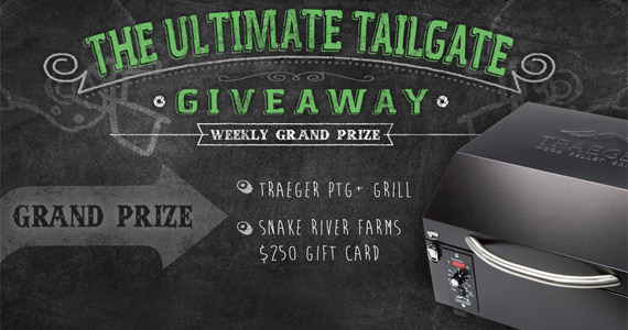 Win a Traeger Grill & More