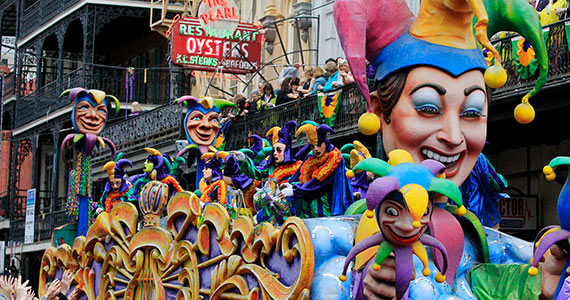 Win a Trip to New Orleans For Mardi Gras