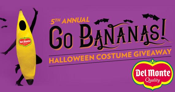 Win 1 of 1,000 Del Monte Banana Costumes