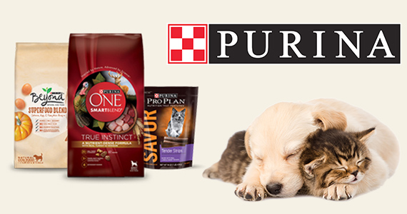 Win Purina Pet Food For a Year