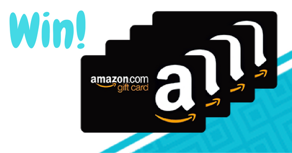 Win 1 of 4 $100 Amazon Gift Cards