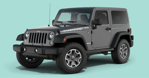 Win a 2016 Jeep Wrangler