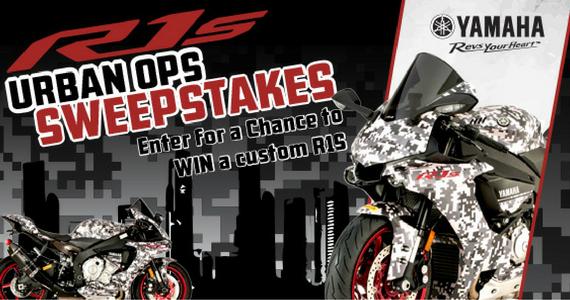Win a 2016 Yamaha R1S Motorcycle