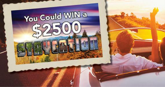 Win a $2,500 Staycation