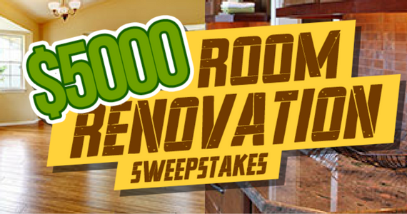Win a $5,000 Room Renovation