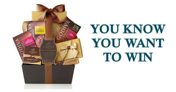 Win a Godiva Chocolate Celebration Gift Basket