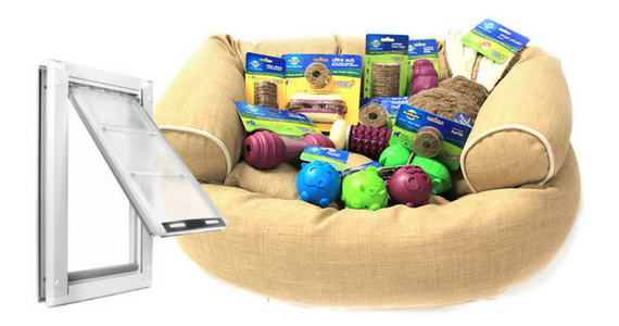 Win an Amazing Doggie Prize Package