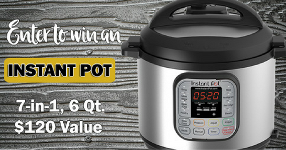 Win an Instant Pot Multi-Functional Cooker